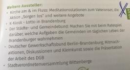 Wittenberge - Brandenburg-Tag